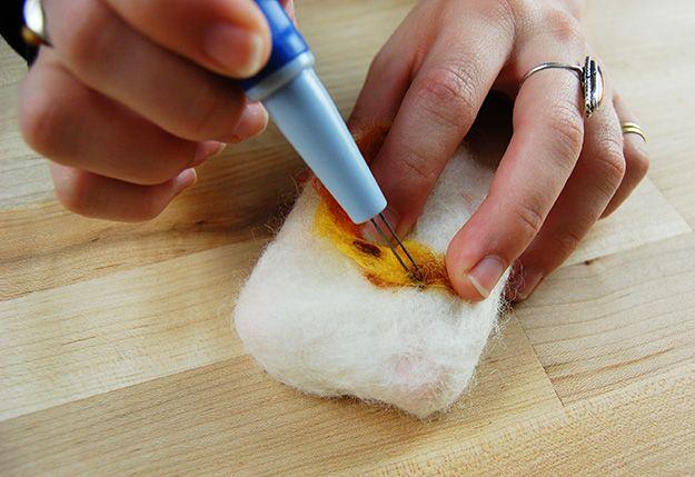 Fotografía - Cómo hacer jabón Felted