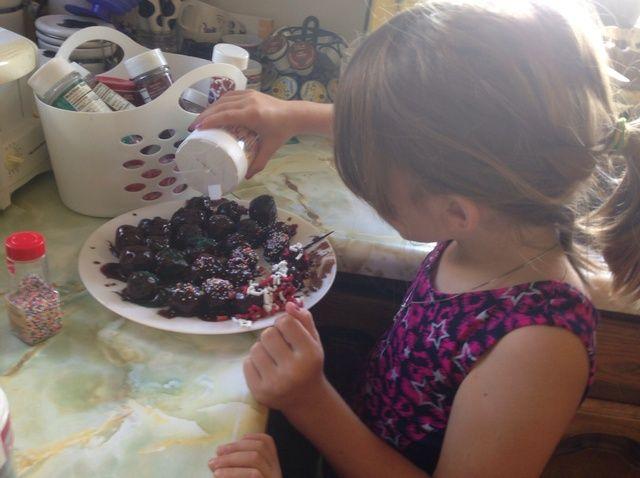 Cómo hacer Efervescente Cake Balls Receta