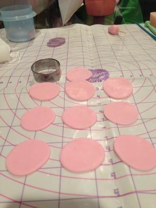 Cortar 10 círculos