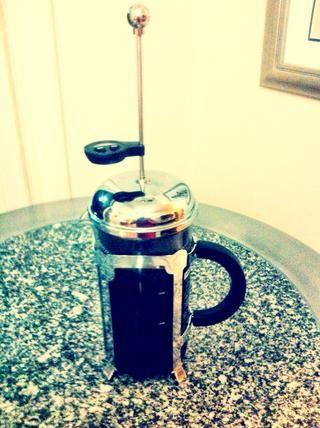 Espera ... La paciencia es la clave de la gran café!