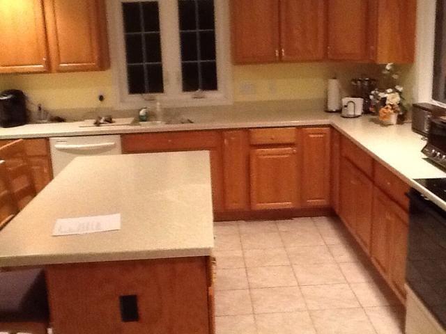 Asegúrese de limpiar su cocina cuando haya terminado!