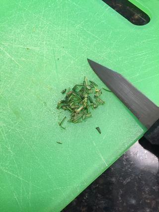 Asegúrese de que se parezca a las hojas pequeñas
