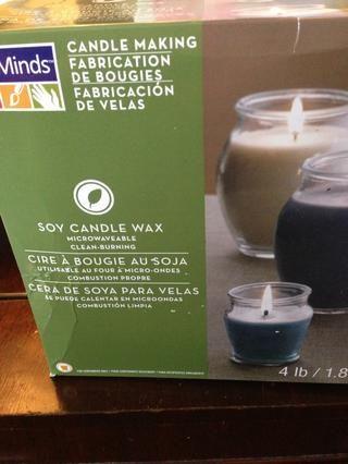 Chips de velas de soja (de Michael's).
