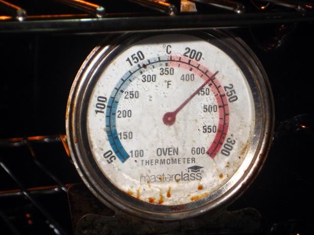 El horno está caliente y listo para su uso.
