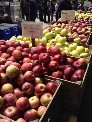 Manzanas al horno con vino de Oporto