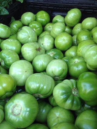 Tomates verdes ..