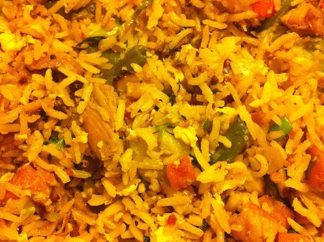 Cómo hacer la receta de arroz frito
