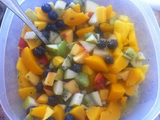 Cómo hacer ensalada de frutas Receta