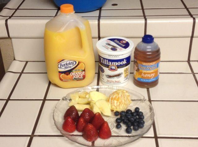 Cómo hacer Fruit Smoothies Receta