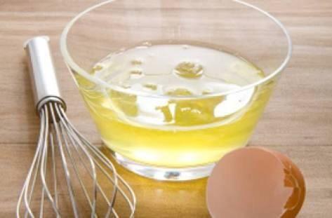 Noe añadir las claras de huevo!