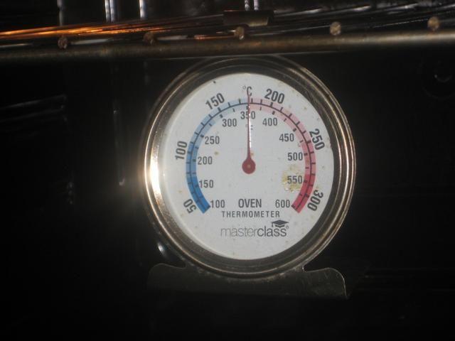 350F / 180c en el dial.