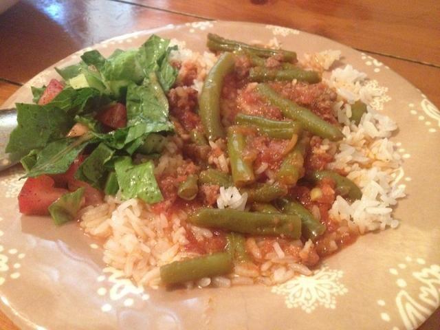 Servir con jazmín o arroz basmati y mi ensalada de Oriente Medio favorito (guía próximamente). Sahteen / a su salud!