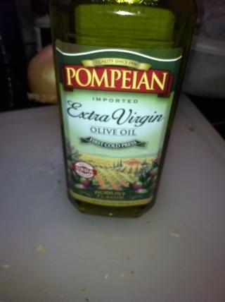 Una cucharada de aceite de oliva