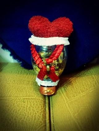 KNW u puede regalo esto a nadie cubriéndolo con cualquier cosa atractiva como yo tomé corazón para cubrirlo