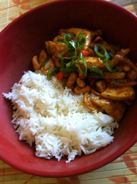 Cómo hacer Ginger & anacardo pollo Receta