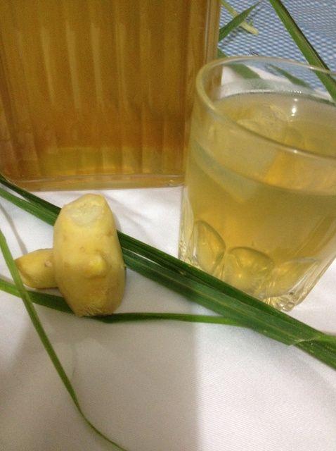 Cómo hacer jengibre Lemon Grass té Receta
