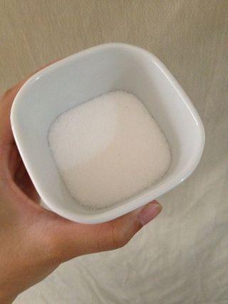 Tres cucharadas de azúcar (blanco por ahora)