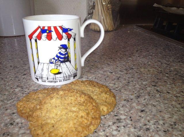 Cómo hacer Jengibre-avena Comida Receta de las galletas