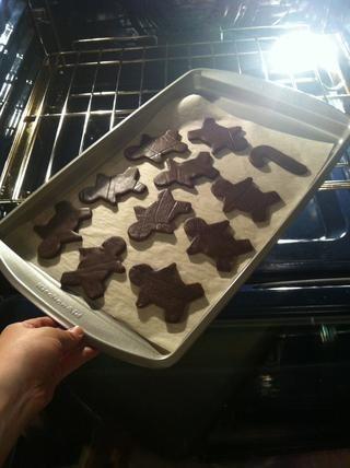 Pop en el horno y hornear durante 12-15 minutos