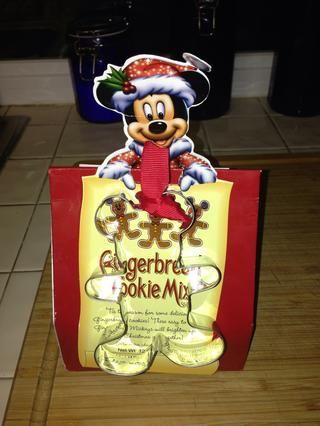 La mezcla de galleta de jengibre. Lo compramos en el mundo de la tienda de Disney en Anaheim, CA.