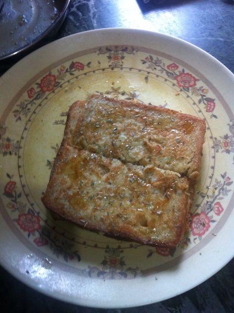 Cómo hacer queso esmaltado tostada francesa Receta