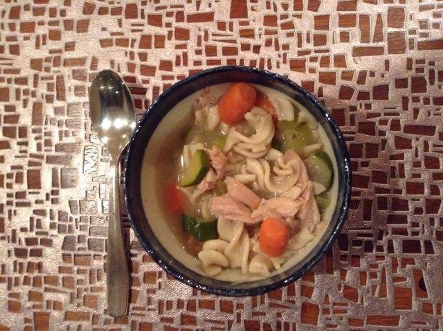 Cómo hacer sin gluten Chicken Noodle Soup Recipe