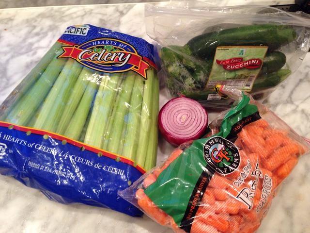 Reúna verduras
