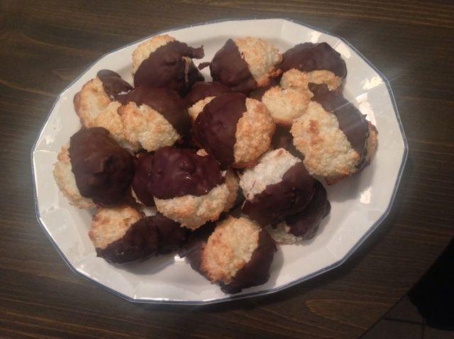 Cómo hacer sin gluten Macarrones de coco Receta