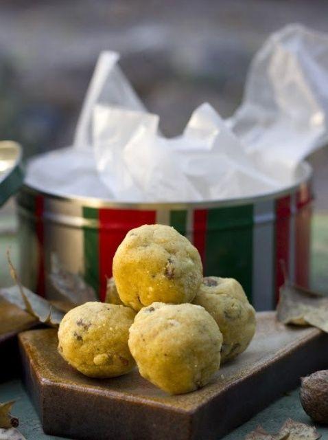 Cómo hacer sin gluten india Postre Laddu Receta
