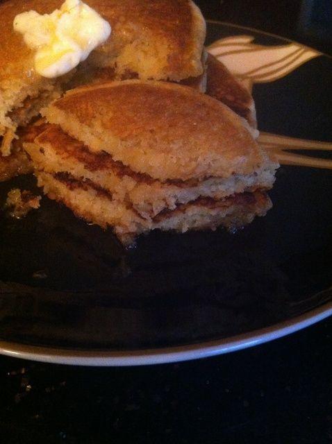 Cómo hacer sin gluten Calabaza leche de coco Receta Pancakes