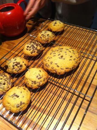También puede cambiar los tamaños de las cookies dependiendo de la preferencia