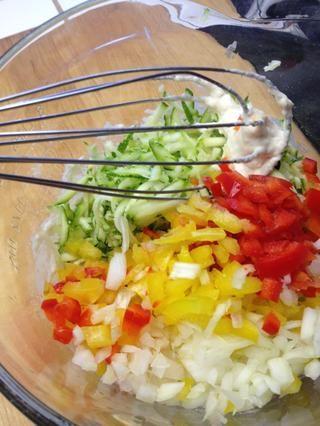 Añadir las verduras