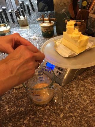 Añadir los huevos