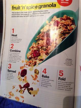 Aquí está la receta de la revista auto! He aumentado el tiempo de cocción para tu información.