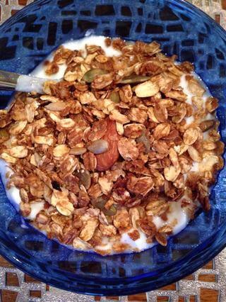 Use esto como un complemento para el yogur o tener con leche para hacer cereales