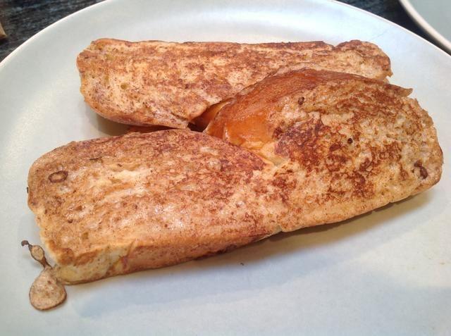 Yum! Usted puede terminar con un poco de azúcar en polvo, jarabe de arce, la mantequilla derretida y tal vez una parte de fruta.