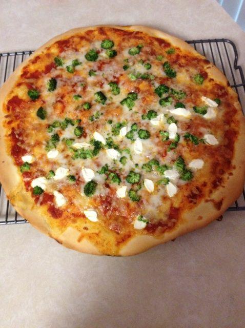 Cómo hacer gran pizza hecha en casa Receta