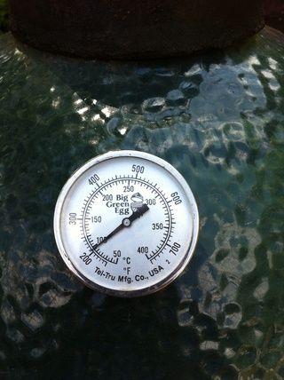 Una vez que la temperatura es de alrededor de 200 grados (no por debajo, aunque) Coloque las costillas a la parrilla.