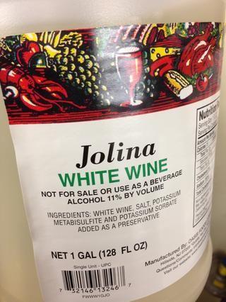 Tiempo para el vino !!! Dejar reducir.