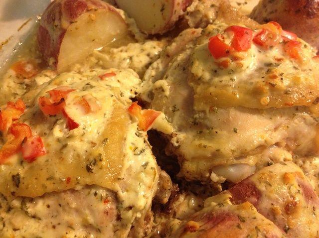 Cómo hacer yogur griego pollo Muslos Receta