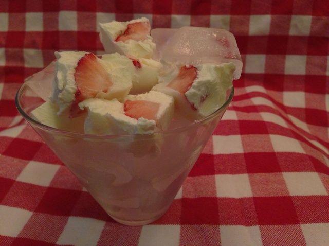 Cómo hacer yogur griego cubrió la fresa Receta Nuggets