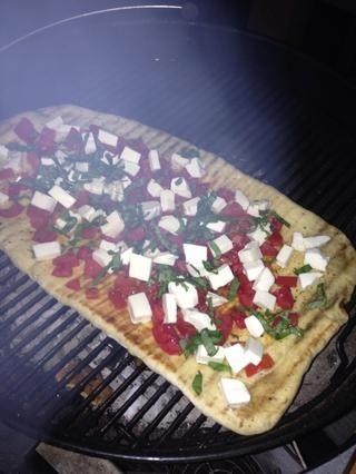 Salir sorprendido frente a su pizza bastante y se cubre hasta dejarlo fin!