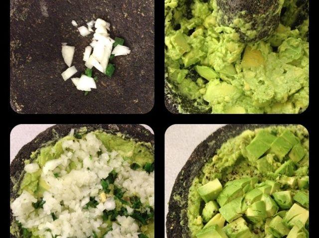 Cómo hacer Guacamole en Molcajete una Receta mexicana