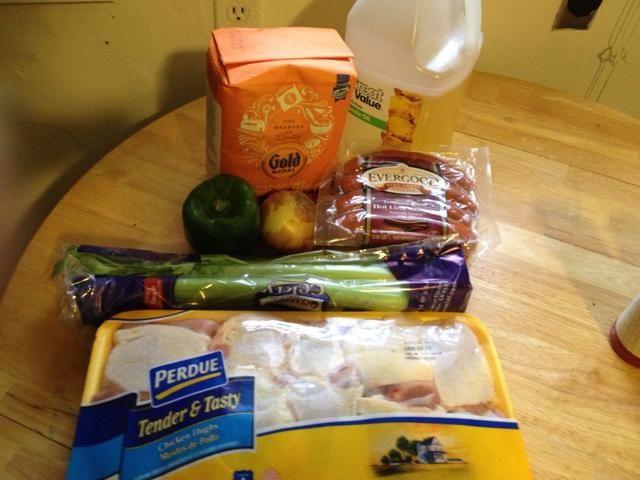 Los productos que preparar para cortar y freír
