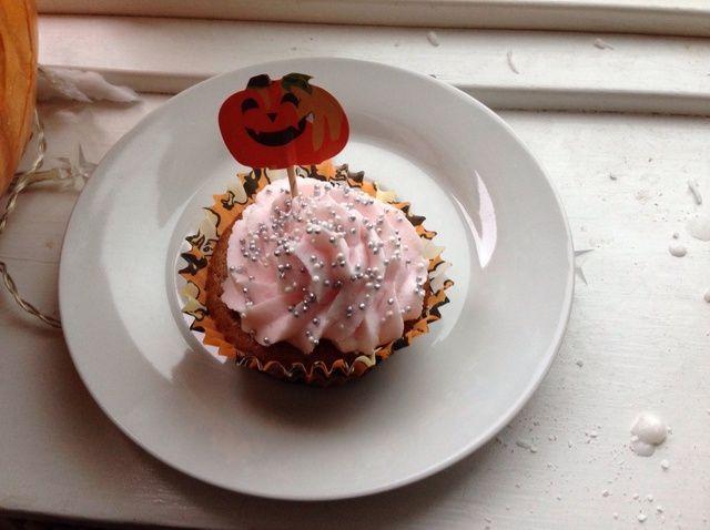 Cómo hacer la calabaza de Halloween Cupcakes Receta