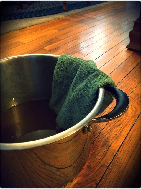 Cómo hacer Suelo de madera Limpiador De Té Negro