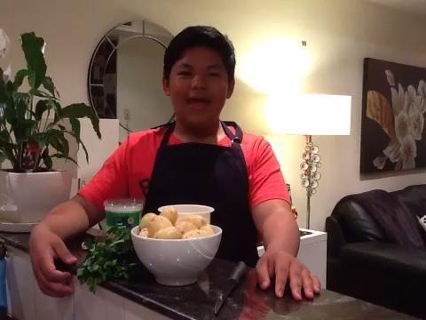 Preparación de la torta de la patata