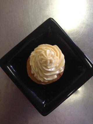 Y tubería en sus cupcakes :) Disfruta