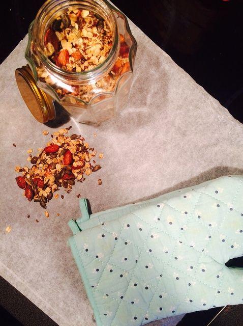 Cómo hacer sana y Crunchy Granola Receta