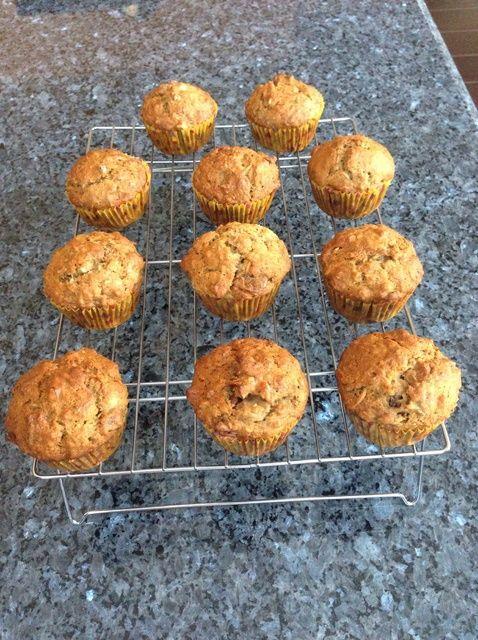 Cómo hacer saludable y fácil desayuno Muffins (vegano) Receta